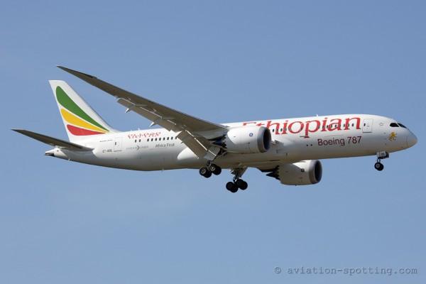 Ethiopian Airlines Boeing B787-8