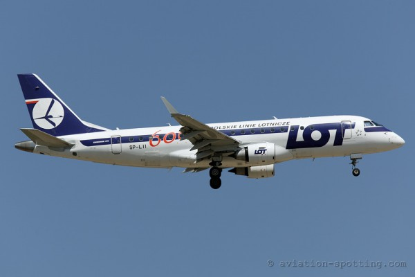 LOT Polish Airlines Embraer E175 (Poland)