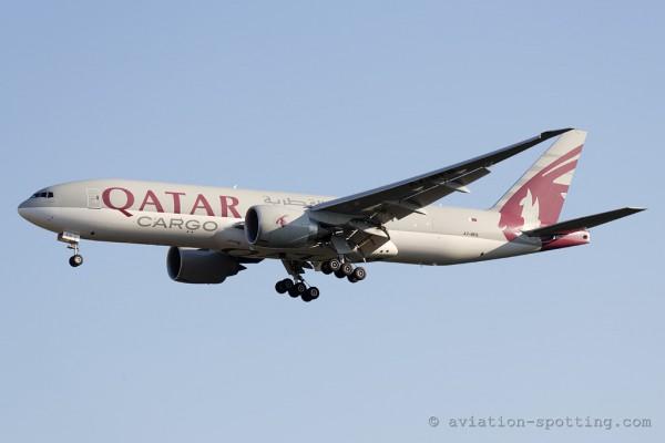 Qatar Airways Cargo Boeing B777-200F