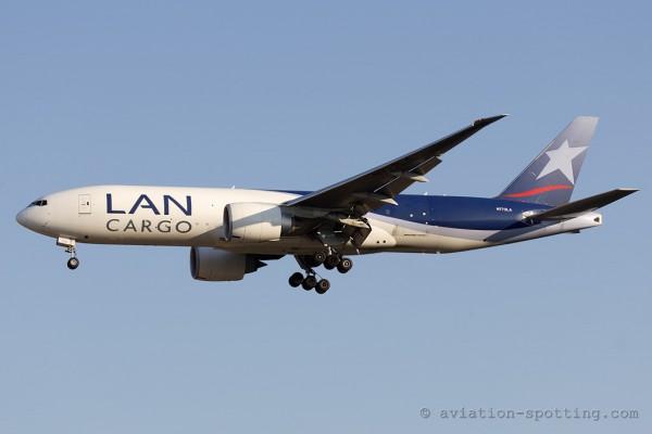 LAN Cargo Boeing B777-200F (Chile)