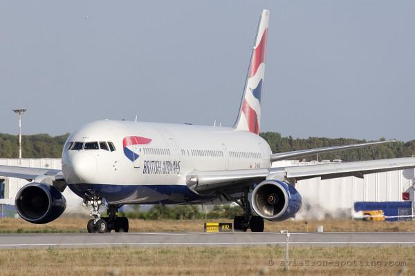 British Airways Boeing B767-300 (UK)