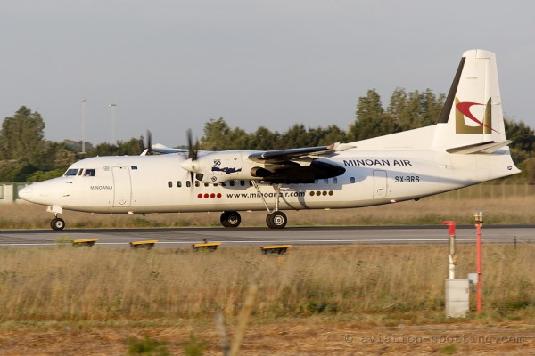 Minoan Air Fokker F27 F50 (Greece)