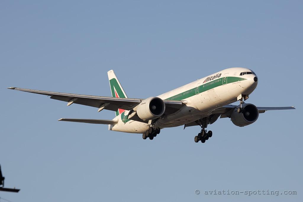 Alitalia Boeing 777-200 (Italy)