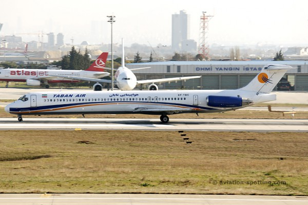 Taban Air McDonnel Douglas MD 88 (Iran)
