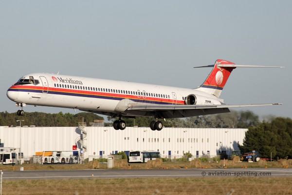 Meridiana McDonnel Douglas MD 82 (Italy)