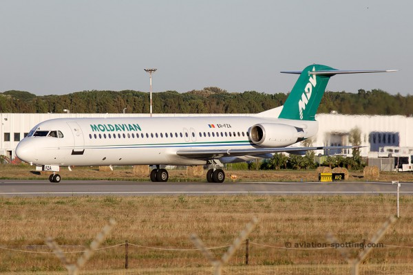 Moldavian Airlines Fokker F100 (Moldova)
