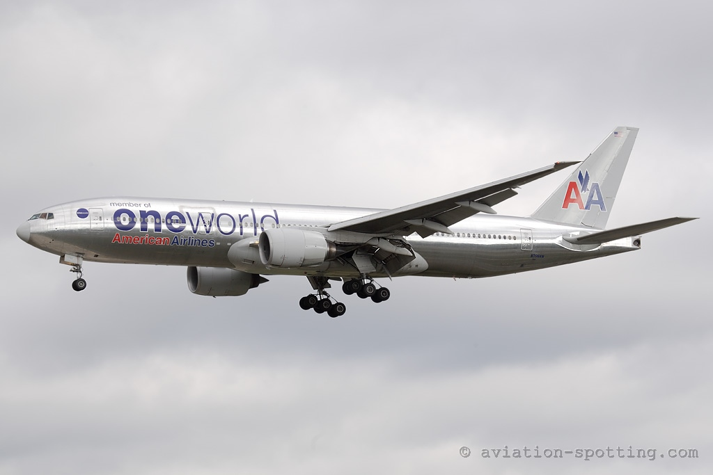 American Airlines Boeing 777-200 (USA)