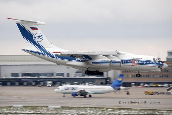 Volga Dnepr Airlines Ilyushin IL 76 (Russia)