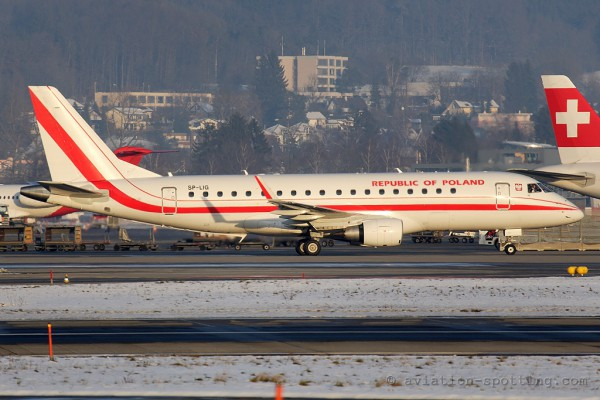 Poland Government Embraer E175