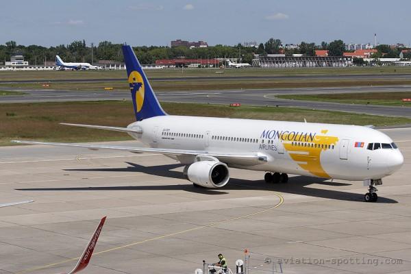 MIAT Mongolian Airlines Boeing B767-300