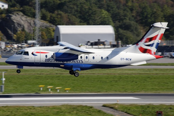 British Airways (Sun Air) Dornier DO 328 Jet