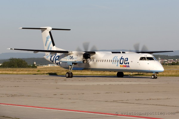 FlyBe Bombardier Dash 8-Q 400 (UK)