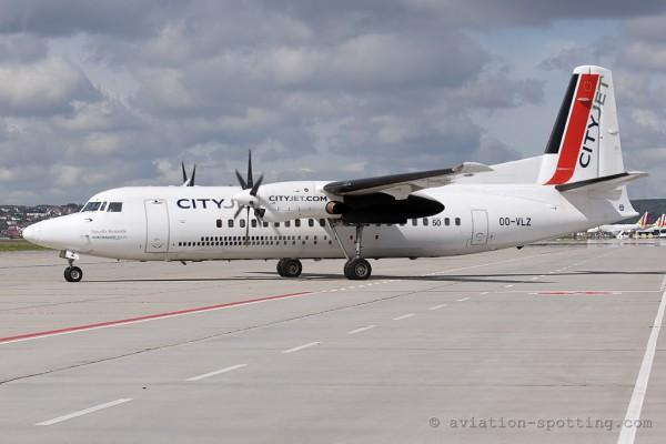 City Jet Fokker F27 F50 (Belgium)