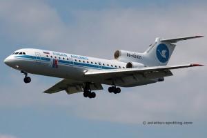 Kuban Airlines Yakovlev YAK 42 (Russia)