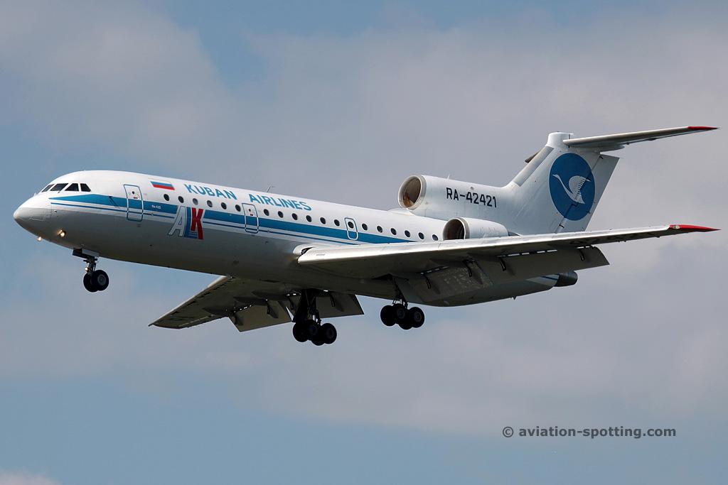 Kuban Airlines Yakovlev YAK42 (Russia)