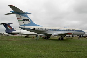 Malev Hungarian Airlines Tupolev TU 134