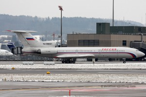 Rossiya – Russian State Transport Tupolev TU 154