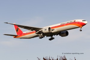TAAG Angola Airlines Boeing B777-300