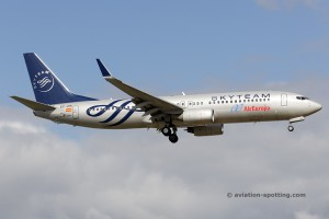 Air Europa Boeing B737-800 Skyteam colours (Spain)