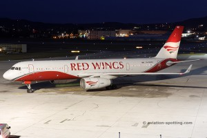 Red Wings Airlines Tupolev TU 204 (Russia)