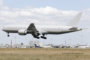 Gabon Government Boeing B777-200
