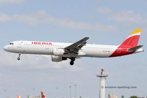 Iberia Airbus 321 (Spain)