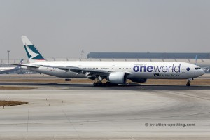 Cathay Pacific Boeing B777-300 (China)