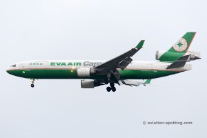 Eva Air Cargo McDonnel Douglas MD 11 F (Taiwan)