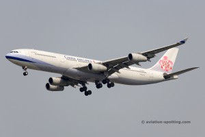 China Airlines Airbus 340-300
