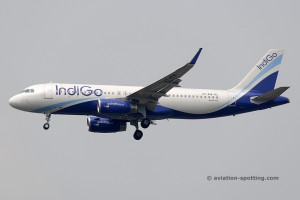 IndiGo Airlines Airbus 320 (India)