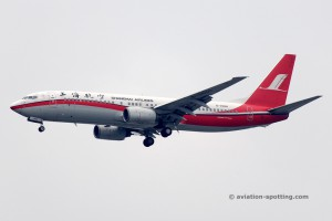 Shanghai Airlines Boeing B737-800 (China)