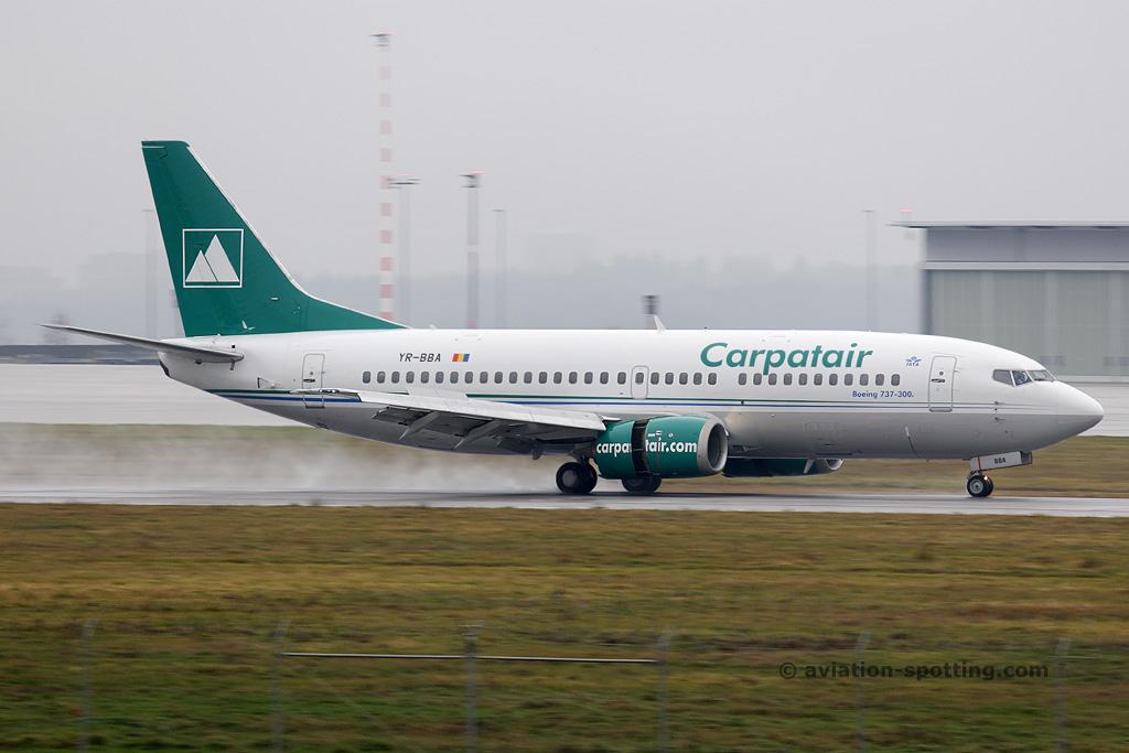 Carpatair Boeing B737-300 (Romania)