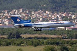 Belavia Belarusian Airlines Tupolev TU 154
