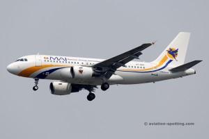 Myanmar Airways International Airbus 319