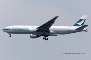 Cathay Pacific Boeing B777-200 (China)