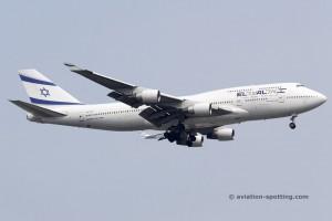 El Al Israel Airlines Boeing B747-400
