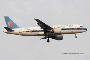 China Southern Airlines Airbus 320