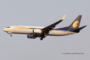 Jet Airways Boeing B737-800 (India)