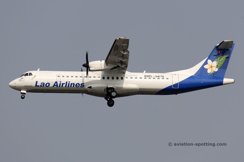 Lao Airlines Aerospatiale ATR72 (Laos)