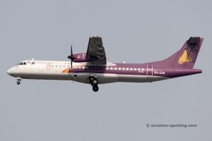 Cambodia Angkor Air Aerospatiale ATR72