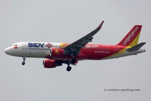 VietJet Air Airbus 320 (Vietnam)