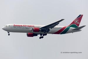 Kenya Airways Boeing B767-300