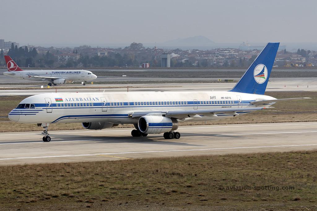 Azerbaijan Airlines Boeing 757-200