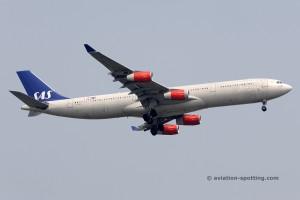 SAS Scandinavian Airlines Airbus 340-300