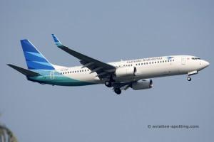 Garuda Indonesia Boeing B737-800