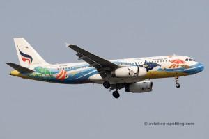 Bangkok Airways Airbus 320 (Thailand)