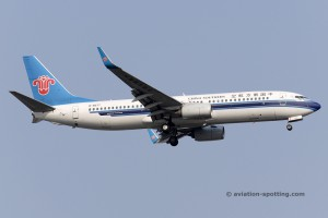China Southern Airlines Boeing B737-800