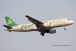 Spring Airlines Airbus 320 (China)