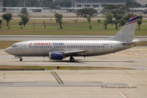 Orient Thai Airlines Boeing B737-300