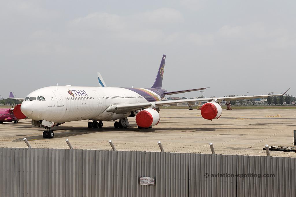 Thai Airways International Airbus A340-500